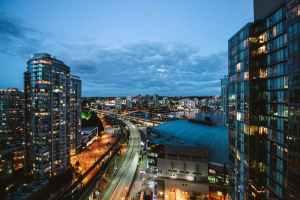 bird s eye photography of high rise buildings