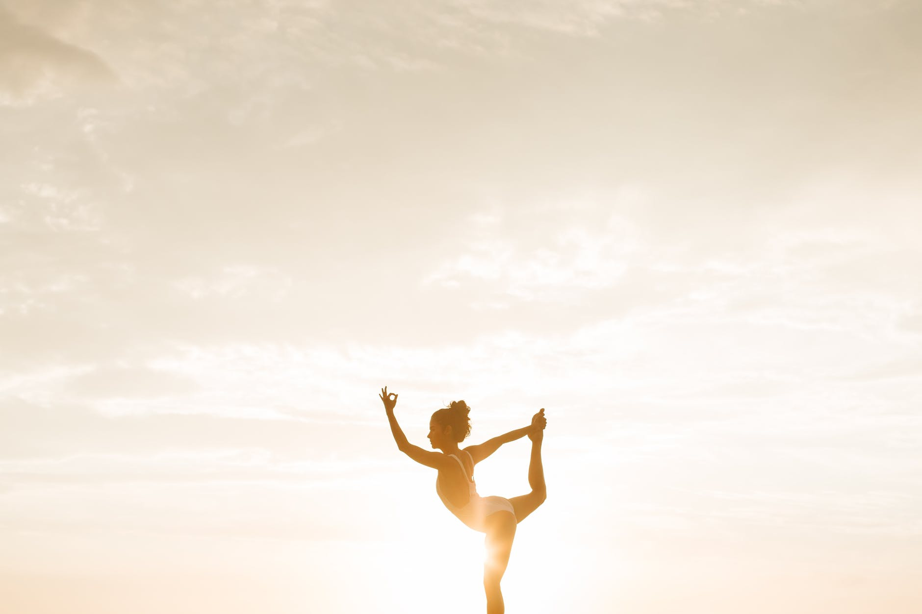 photo of woman posing during golden hour